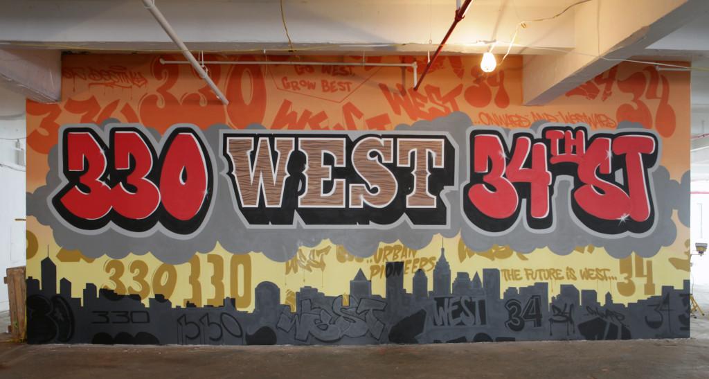 NYC Mural Consultant - Vornado Realty Trust Graffiti