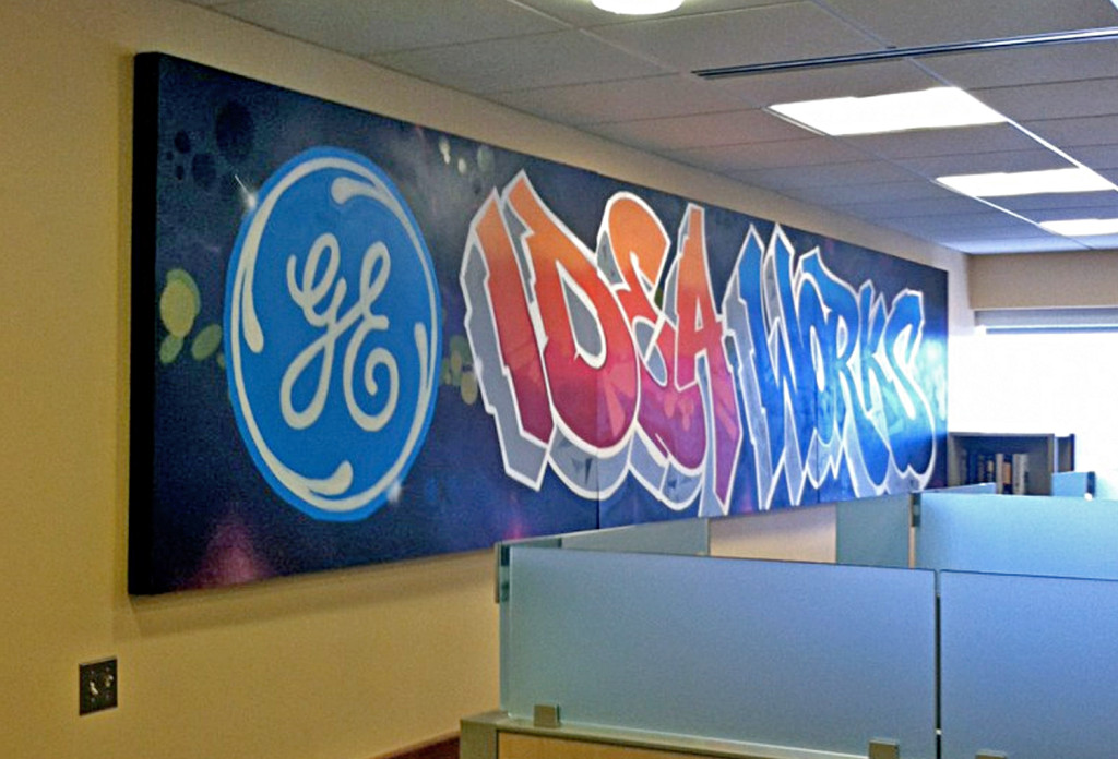 GE mural Canvas