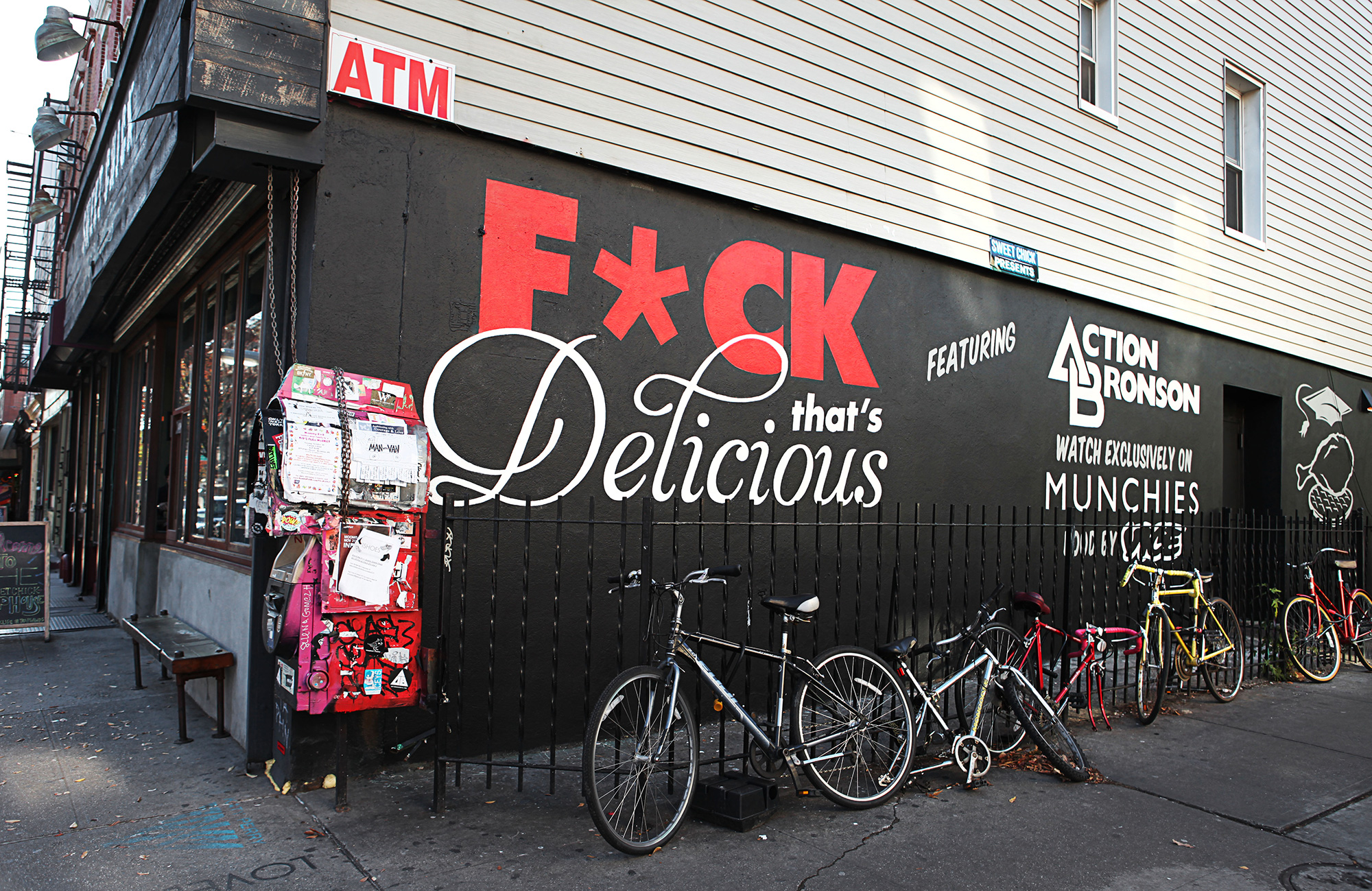 Vice Graffiti Mural