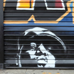 Atlantic Cellars Notorious BIG - Graffiti on Gate