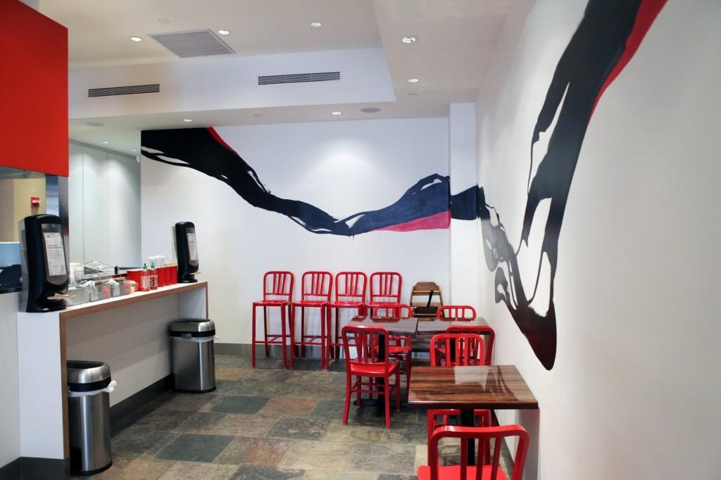 Bento Sushi Mural
