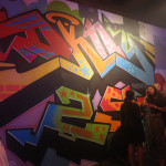 DKNY 25th Anniversary Graffiti Art for Party