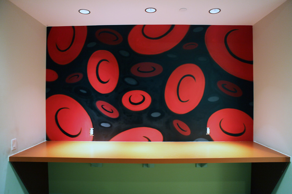 Red Blood Cells Wall Art