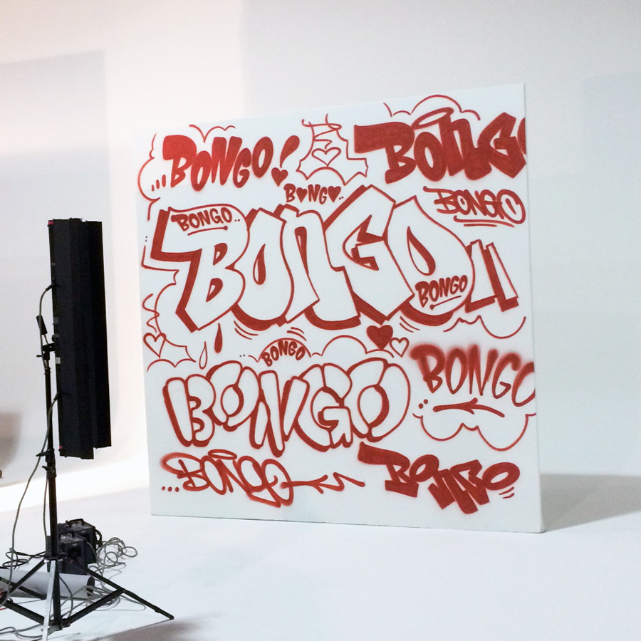 Graffiti for Celebrity - Bongo Jeans