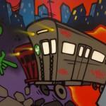LinkedIn Corporate Office Graffiti - Anthony Mast