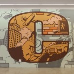 C - NYPD & King Kong - Vornado Realty Trust Graffiti