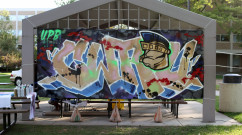Case Western Reserve University Graffiti Mural