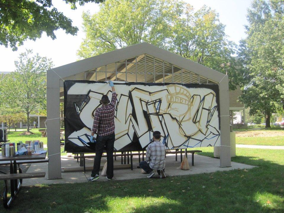 Ohio Graffiti Artist For Hire