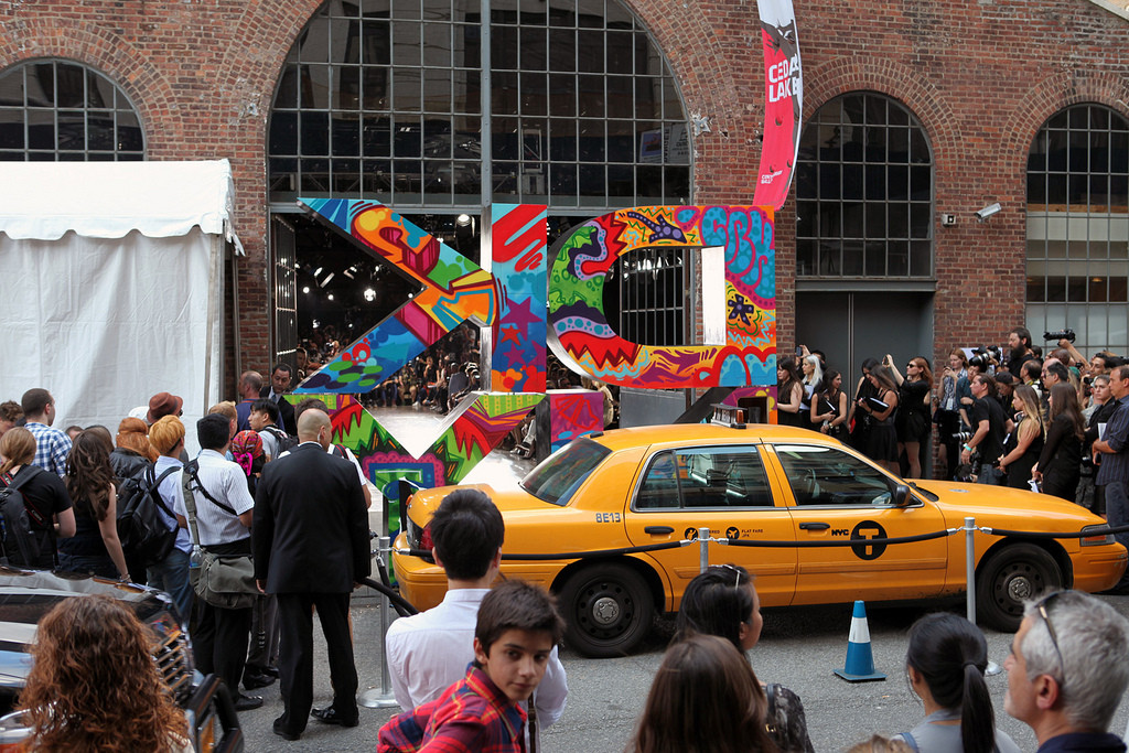 DKNY Fashion Week Activation with Street Art