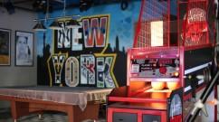DirecTV Studio Street Art Mural - Nick & Artie Show