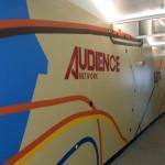 DirecTV Subway Graffiti - Audience Network Logo