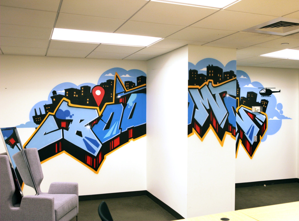 New York Facebook Office Graffiti Art Graffiti Usa