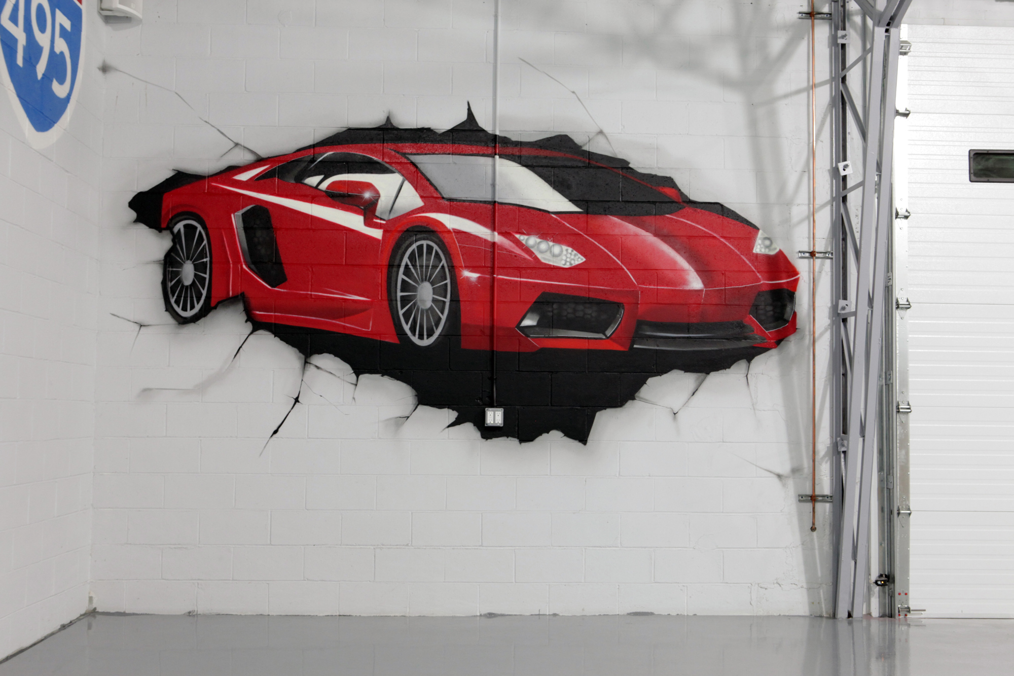 High End Residential Graffiti Man Cave Graffiti Usa