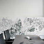 Gorey Thrillist Office Meeting Room Street Art