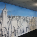 Seb Gorey Skyline - LinkedIn Office Street Artwork