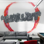 Thrillist Street Art Logo in New York City Office