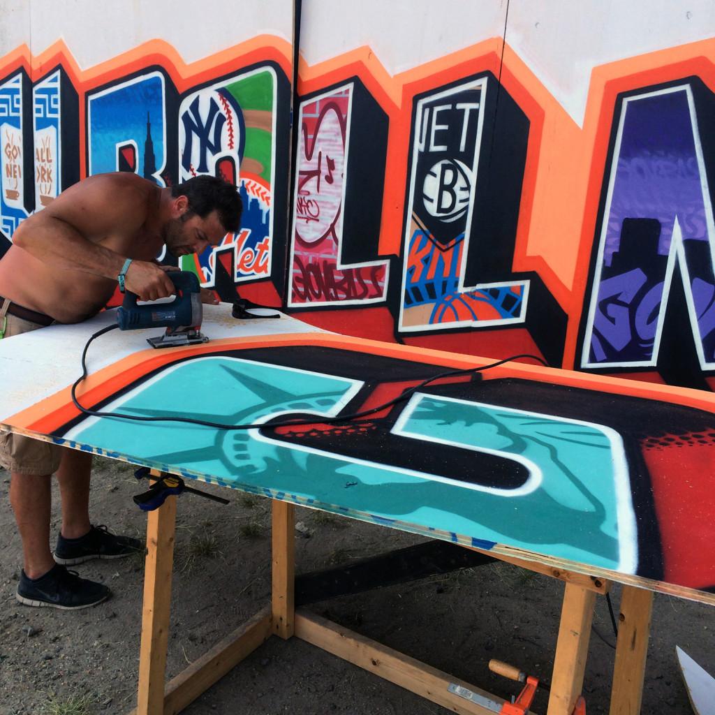 Gov Ball NYC Graffiti