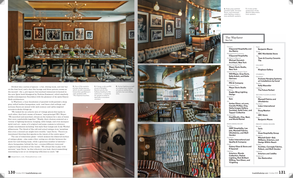 Hospitality Design Magazine - Graffiti USA