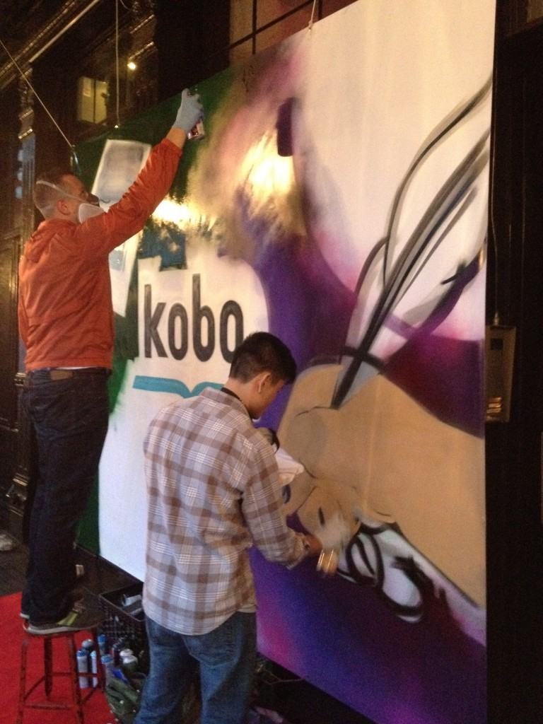 Kobo Live Graffiti Event