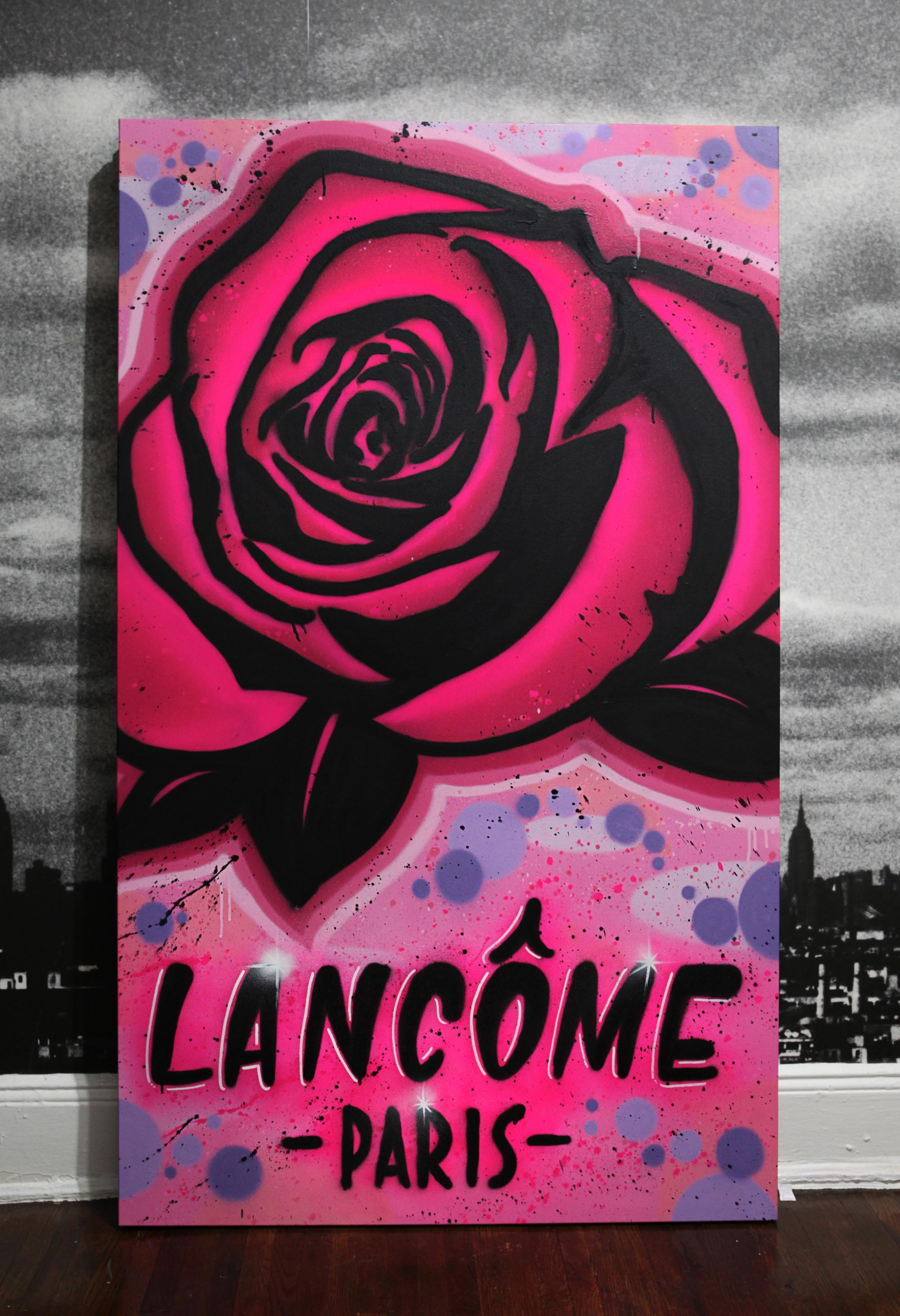 Lancome Graffiti Canvas