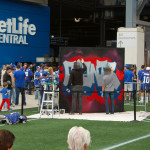 Metlife Live Graffiti Art in NJ - Stadium NFL
