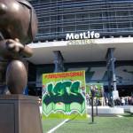 Jets Street Art at Metlife Stadium