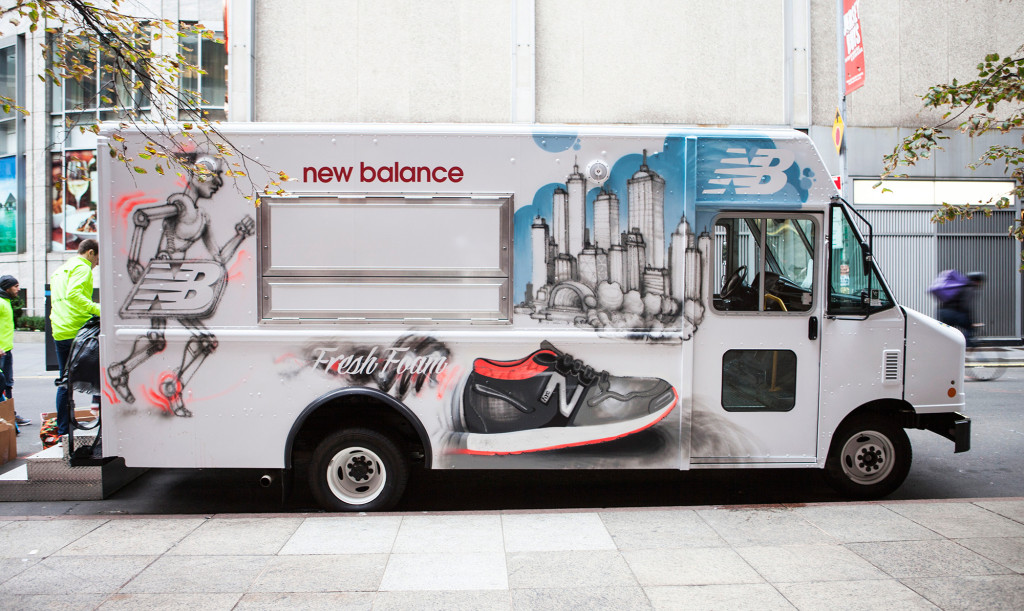 New Balance Graffiti