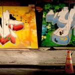 New York Graffiti Lettering for Google Event