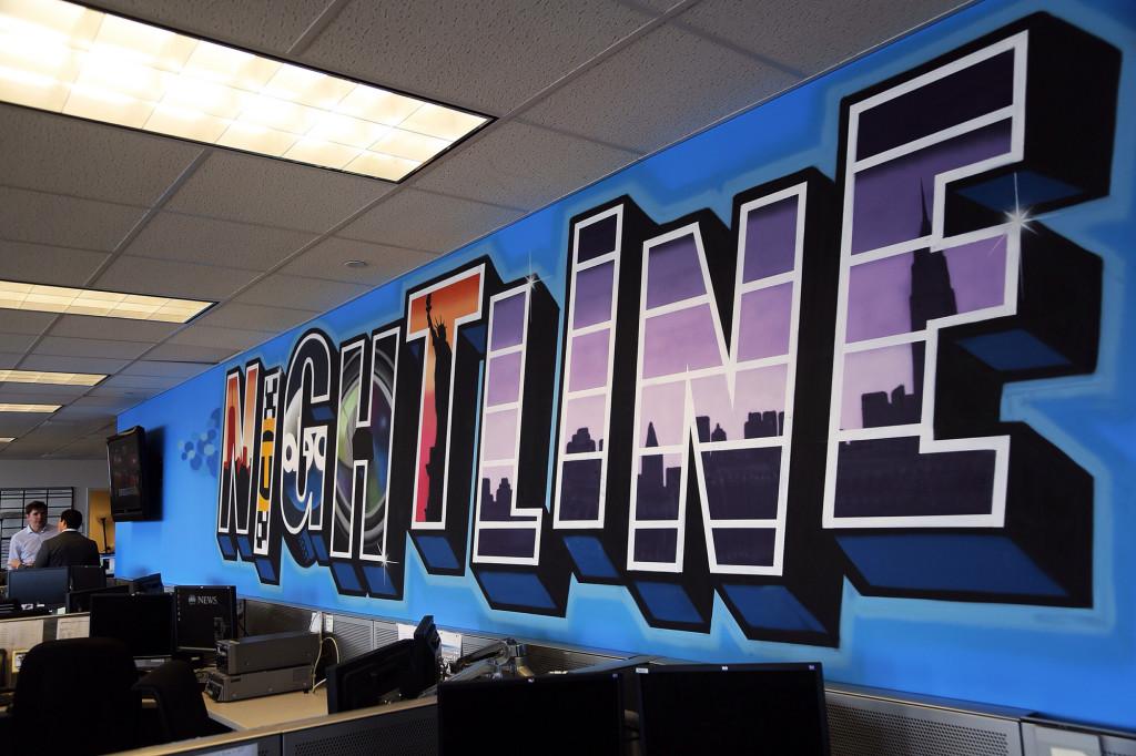 Nightline Office Graffiti - ABC News
