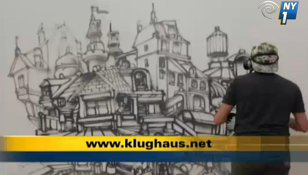NY1 Graffiti - Klughaus Gallery