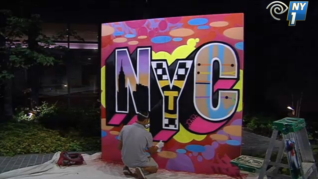 NY1 News - Graffiti USA Video