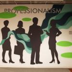 Professionalism Street Art in Pharma Office