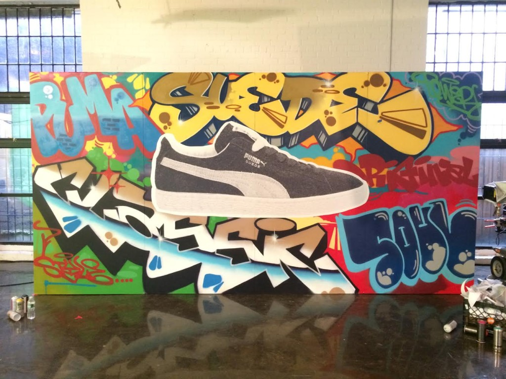 Graffiti Artist Commercial for PUMA