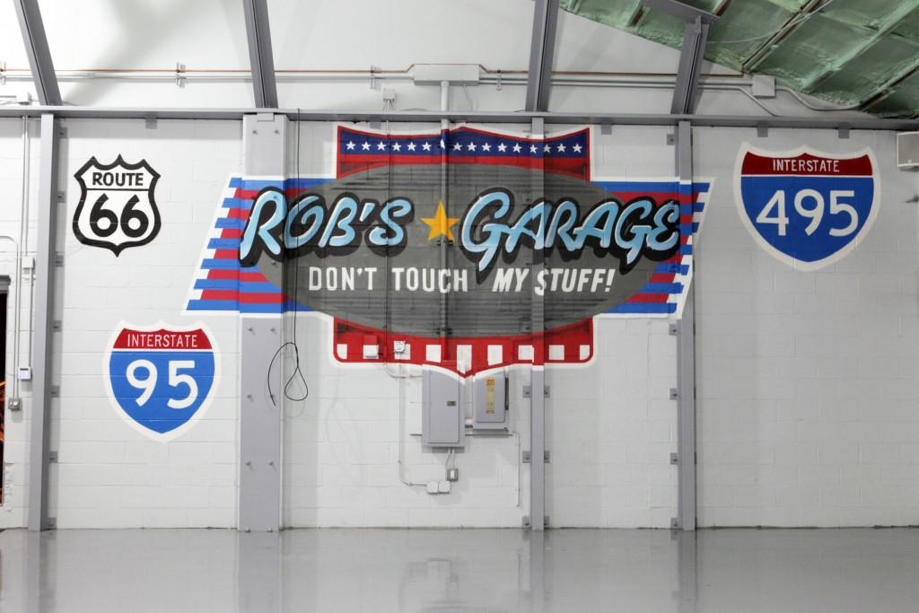 Rob's Garage Graffiti