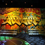 Samsung Milk Music Graffiti Venue Hip-Hop Room