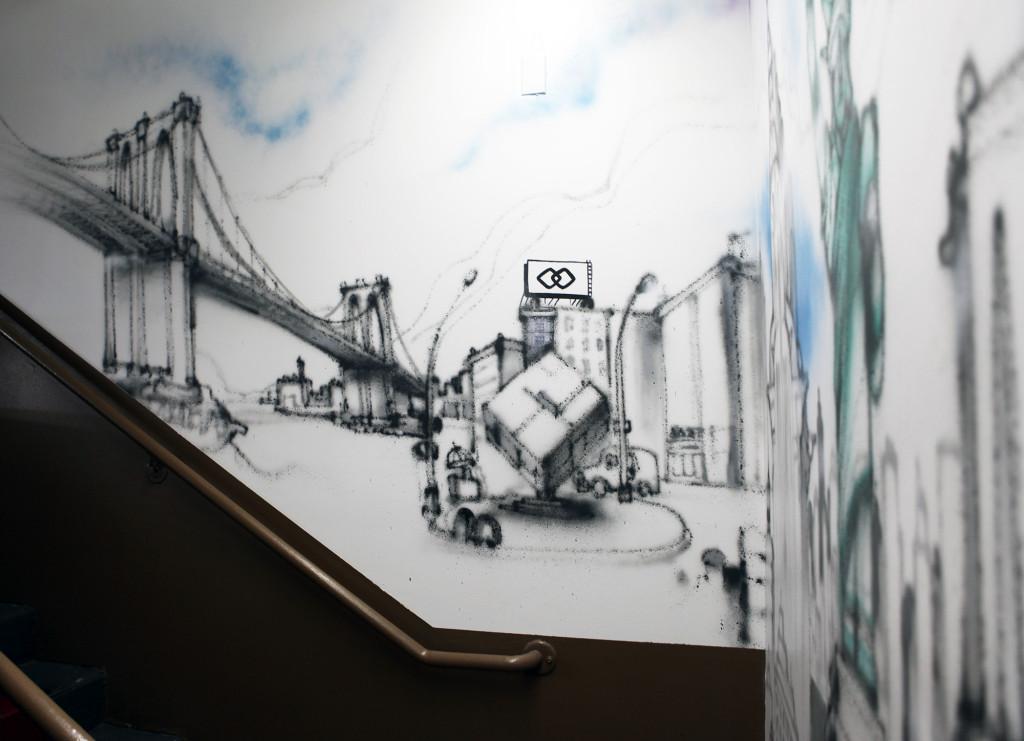 Sofitel Hotel Graffiti