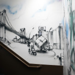 Sofitel Hotel Graffiti Art - Astor Place