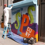 CUNY SPS Graffiti Action Shot of Painting in NY