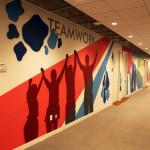 Teamwork Street Art Mural in NJ - Pharma