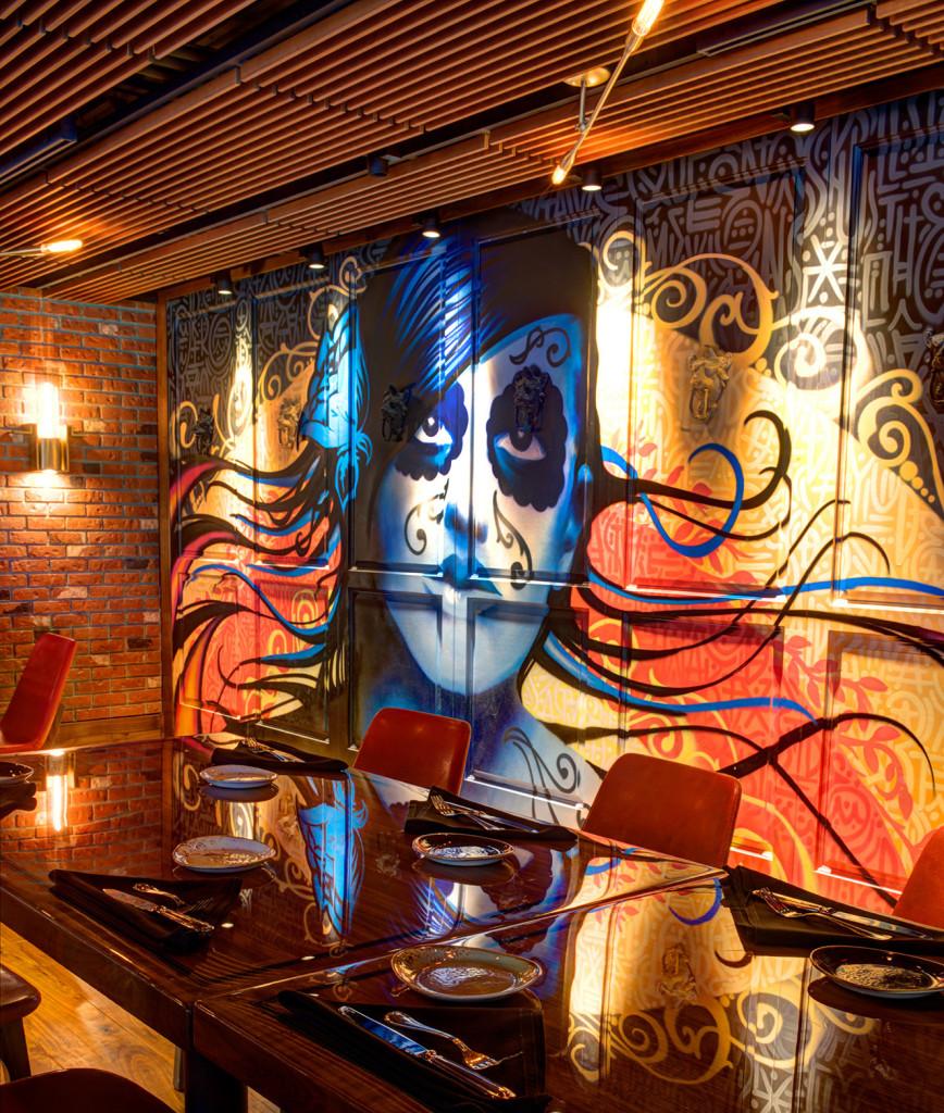 Torre Restaurant Graffiti
