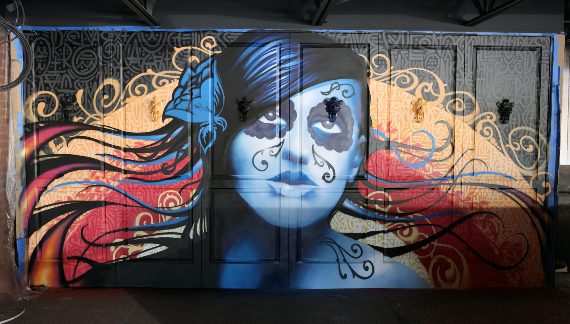 Graffiti artist for hire blog graffiti usa part 2 for Mural restaurant