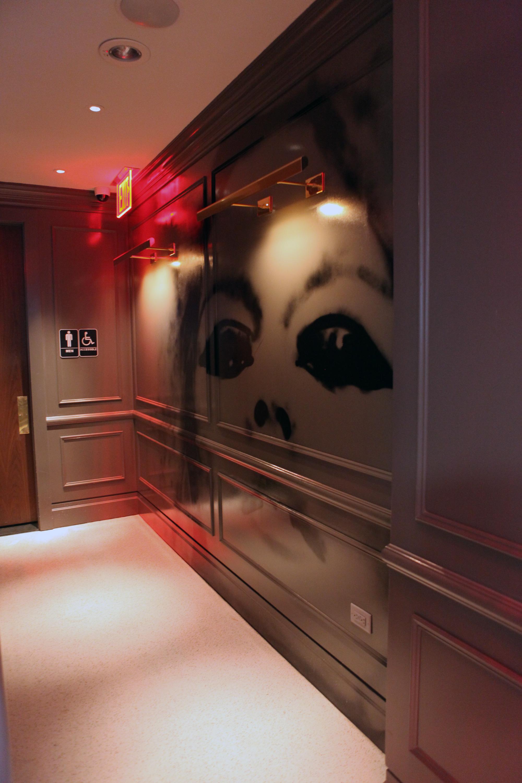 Wayfarer Restaurant Brigitte Bardot Street Art Portrait