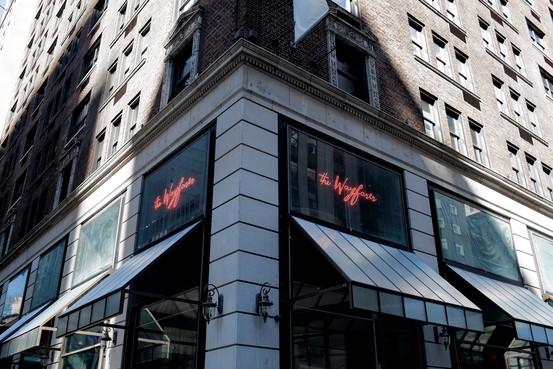 Wayfarer Restaurant Graffiti