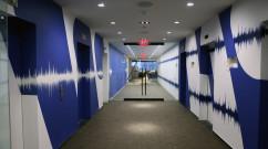 WMG Graffiti in Hallway