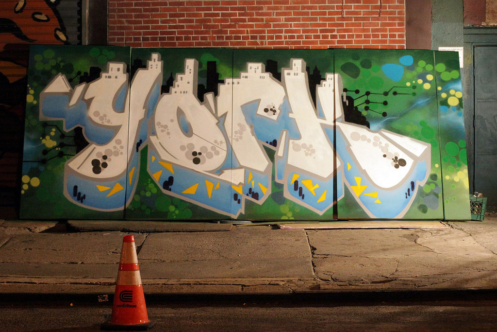 Google Big Tent Graffiti