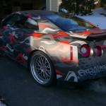 NJ Street Artist Paints Exclusive GT-R