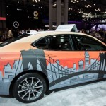 NY Acura Live Street Art Graffiti on Acura