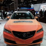 NY Acura Graffiti on Car - Javits Center