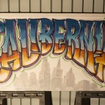 Calibernia Signage in Los Angeles - Graffiti Lettering