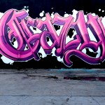 Crazy Old English Graffiti Lettering by Self in Los Angeles